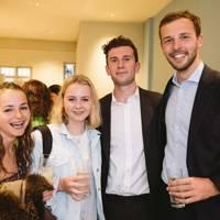Katherine Dansie, Minna Hall, Charles Rae and Henrik Carstens