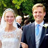 Archduchess Gabriella of Austria and Prince Henri of Bourbon-Palma