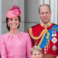 The Duchess of Cambridge, Princess Charlotte, Prince George and the Duke of Cambridge