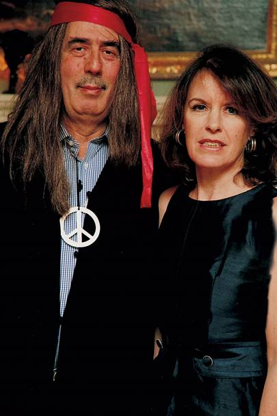 Tom Bower and Mrs Tom Bower