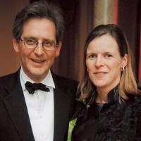 Viscount Dupplin and Viscountess Dupplin