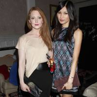 Gemma Chan and Olivia Hallinan