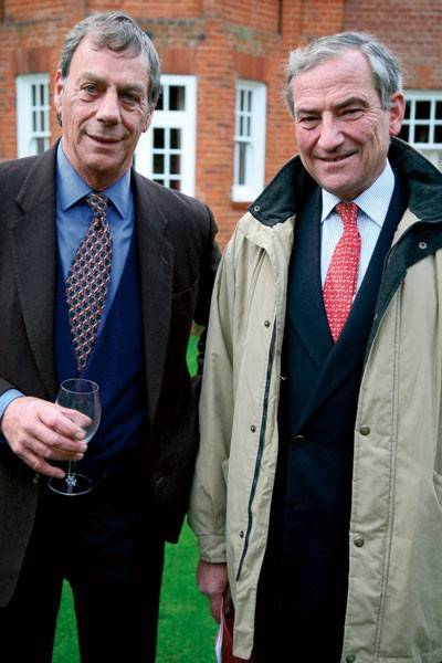 Henry Cecil and Luca Cumani