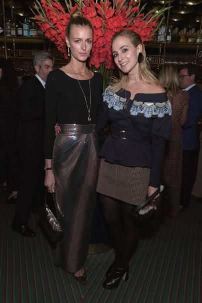 Jacquetta Wheeler and Elisabeth von Thurn und Taxis
