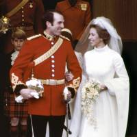Princess Anne's wedding to Captain Mark Phillips, 1973