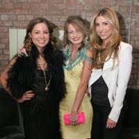 Serena Guen, Charlotte Summers and Becky Levett