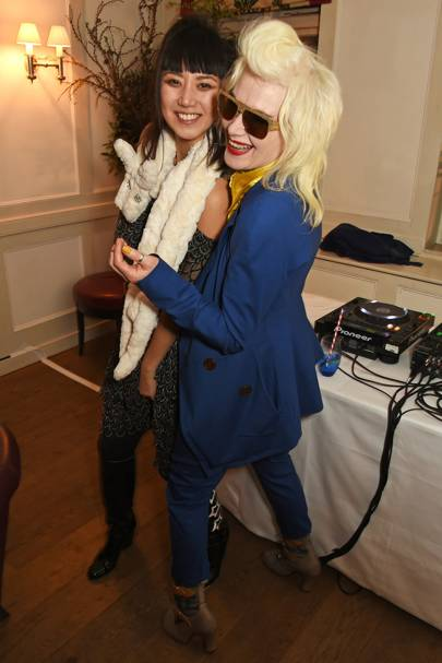 Betty Bachz and Pam Hogg