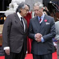 Sir David Tang and the Prince of Wales, 2007