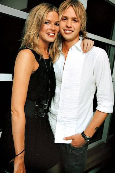 Isabella Calthorpe and Sam Branson