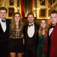 Thomas Steventon, Pippa Brock, Jasper Wiese, Scarlett Down and William Bowen