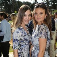Amber Le Bon and Lady Natasha Rufus Isaacs