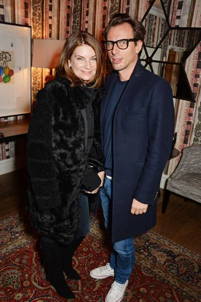 Natalie Massenet and Tosrtensson