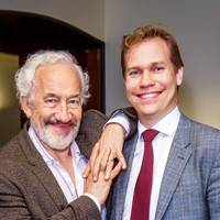 Simon Callow and Sebastian Fox
