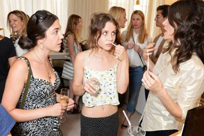Lucy Porter, Billie JD Porter and Bella Freud