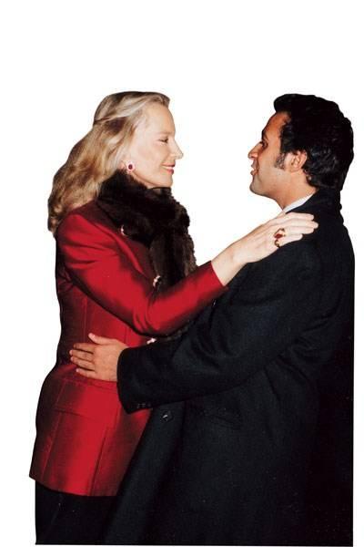 Princess Michael of Kent and Aatish Taseer