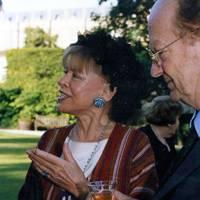 Mrs Anthony Crosland and Auberon Waugh