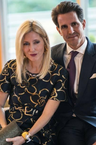 Princess Marie Chantal and  Prince Pavlos of Greece