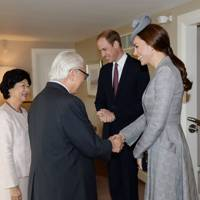 Mary Chee Bee Kiang, Tony Tan Keng Yam, the Duke of Cambridge and the Duchess of Cambridge