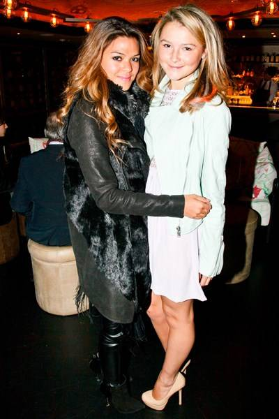 Rachel Springate and Amber Atherton