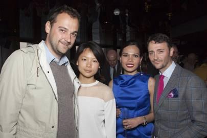 Daniel Humm, Kara Yu, Irha Atherton and Jason Atherton