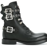 Diesel biker boots