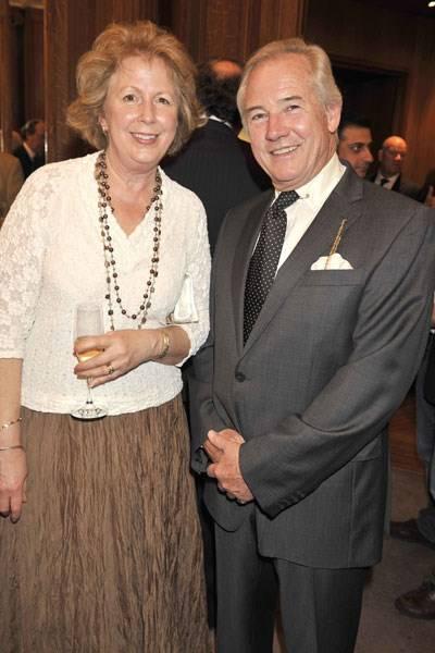 Susie Green-Armytage and Nicholas Colquhoun-Denvers