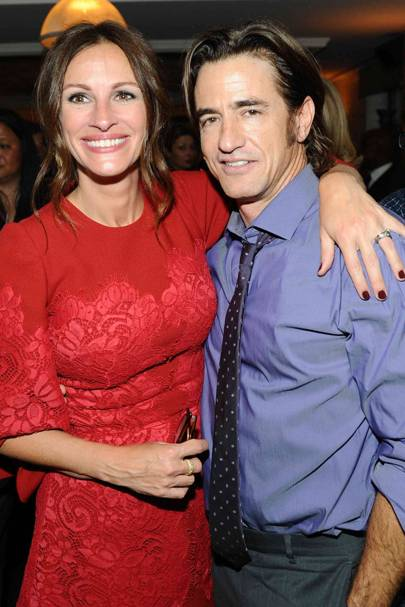 Julia Roberts and Dermot Mulroney