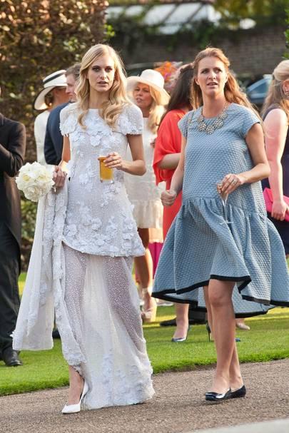 Poppy Delevingne and Chloe Delevingne