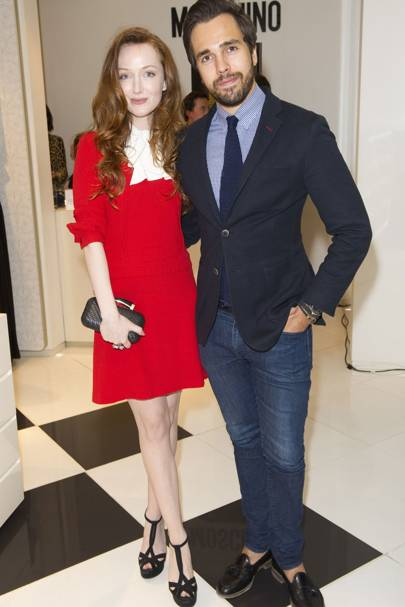 Olivia Grant and Diego Bivero-Volpe
