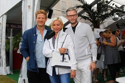 James Norton, Denise Van Outen and Eddie Boxshall