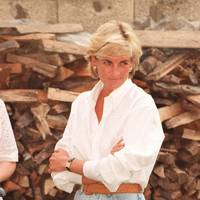 Diana, Princess of Wales, circa 1990