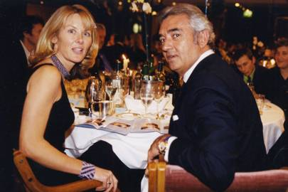 The Marchioness of Bute and Falvio Briatore