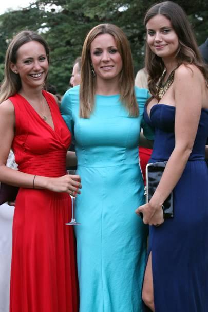 Lavinia Brennan, Natalie Pinkham and Lady Natasha Rufus Isaacs