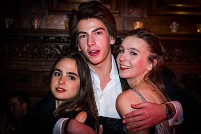 Gaia Brignone, Douglas Parayre and Caroline Stafford