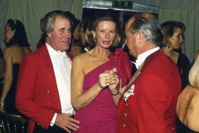 John Barrow, Mrs John Barrow and Stanislas Yassukovich