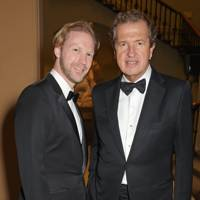 Jan Olesen and Mario Testino