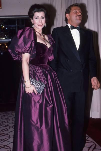 Princess Egon von Fürstenberg and Prince Egon von Fürstenberg