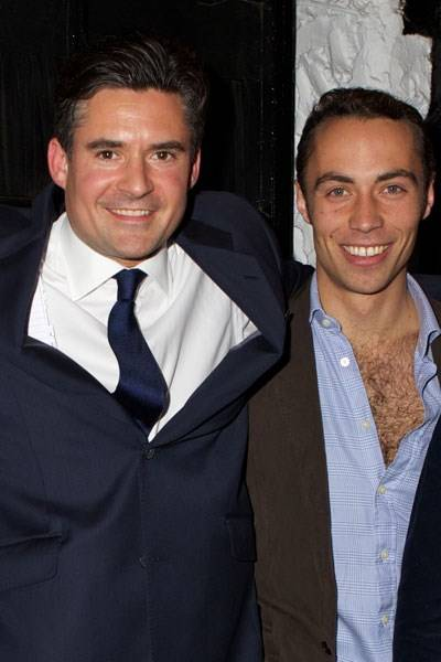 Edward Taylor and James Middleton