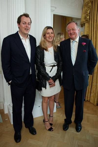 Tom Parker Bowles, Sara Parker Bowles and Andrew Parker Bowles