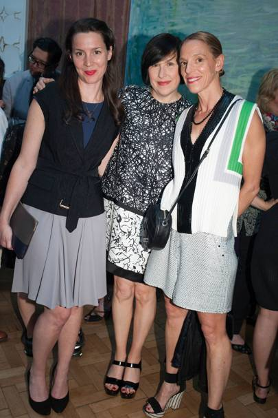 Victoria Siddall, Alice Rawsthorn and Tiphaine de Lussy