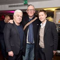 Tim Blanks, Giles Deacon and Christopher Bailey