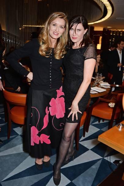 Natascha McElhone and Ronni Ancona