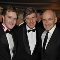 Tom Queally, Brough Scott and Barry McGuigan