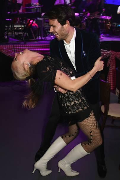 Tamara Beckwith and Mark-Francis Vandelli