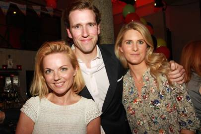 Geri Halliwell, Wilfred Frost and Kinvara Balfour