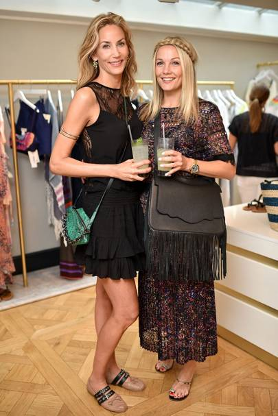 Caroline Fleming and Lisa Butcher