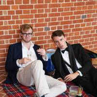 Ollie Morris and Jack Hawkins