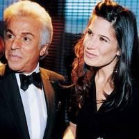 Giancarlo Giametti and Elizabeth Saltzman