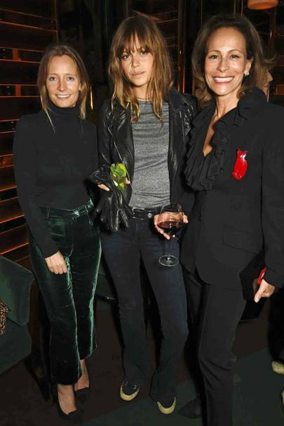 Martha Ward, Jess Clarke and Andrea Dellal