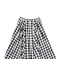 Cotton skirt, £695, by Michael Kors